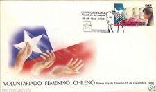 Chile 1986 FDC Voluntariado Femenino