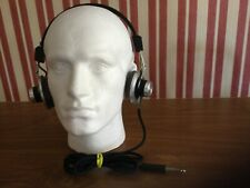 More details for vintage sony dr 4a -1968 -stereo headphones.