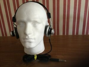 Vintage Sony DR 4A -1968 -Stereo Headphones.