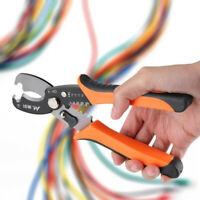 Professional Electrician Wire Cable Cutter Stripper Pliers Hand Tool