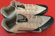 Nike size 12.5 NEW ENGLAND PATRIOTS ALPHA PRO CLEATS no box NFL red white blue