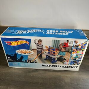 Hot Wheels Raceway Race Car Track Road Rally Playset Toy Vehicle Child Fun Game
