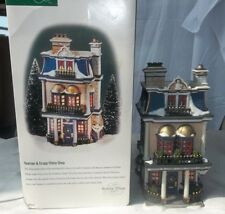 Dept 56 Dickens Village Teaman & Crupp China Shop In Box 58314 Christmas