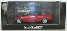 Voitures, camions et fourgons miniatures rouge Cabriolet BMW
