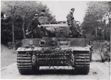 WW2 Photo German Tiger Tank in Normandy WWII Panzer World War Two Pzkpfw. VI