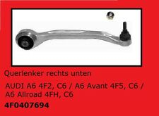 1 x Wishbone Right Audi A6 4F2, C6/A6 AVANT 4F5, C6/A6 Allroad