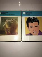 Ray Conniff After The Lovin / Rick Nelson Legendary Masters 8 Track Lot Of 2