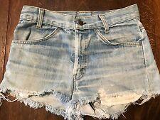 Vintage 1970s Levi's Orange Tab 746 Bell Bottom Jeans Cutoff Shorts 29W Scovill