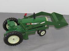Vintage OLIVER 1850 Toy Tractor 1:16 ERTL Restored with LOADER Sharp!!!