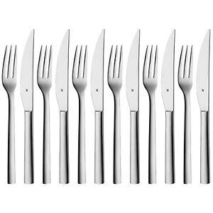 WMF Grill- / Steakbesteck Nuova Set 12 tlg. NEU für 6 Personen Besteck