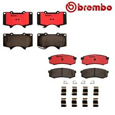 Front & Rear Brembo Brake Pad Kit For Toyota 4Runner Lexus GX460 P83066N P83024N