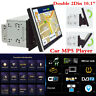 """Double 2Din 10.1"""" HD Car Radio Stereo GPS Navs MP5 Player Bluetooth Mirror Link"""