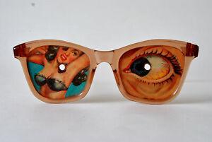 Scherzartikel: Pin Up Brille VARI-VUE, 50er Jahre