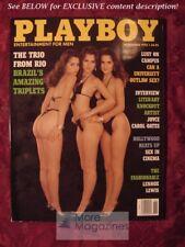 PLAYBOY November 1993 TRIPLETS! LEROY NEIMAN BILL WALSH JULIANNA YOUNG
