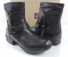 Women's Shoes Clarks Riddle Avant Casual Ankle Boots Booties Zip Black Size 6