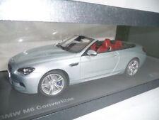 BMW 6er m6 f13 Cabriolet Silverstone II 1:18 PARAGON DEALER VERY RARE