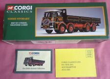 Corgi Classics Eddie Stobart 1100 1 E R F 8 Wheel lorry Box Only