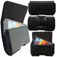 1A Gürtel Seiten Quer Tasche Cover Case Schutz Hülle Etui für Sharp B10