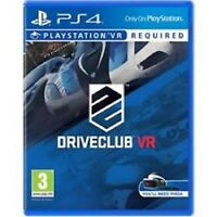 DRIVECLUB VR - PS4 - (VR Required)  SUPERB CONDITION QUICK DISPATCH