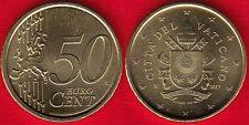 """Vatican 50 euro cents 2017 """"Franciscus"""" UNC"""