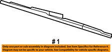 FORD OEM-Wiper Blade 8L3Z17528A