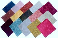 """60 5"""" TIC TAC Fabric Squares  by Andover15 different colors-4 each/-Designer"""
