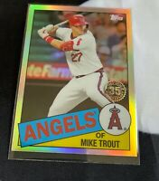 2020 Topps Chrome Mike Trout 35th Anniversary Los Angeles Angels