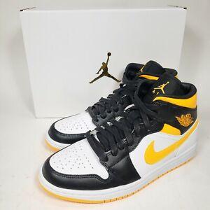 Jordan 1 Mid SE Womens Size 8.5 Laser Orange White Black CV5276-107 Nike Air