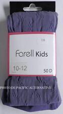 Collant VIOLET taille 10 / 12 ans - 50 D pour fille enfant FARELL KIDS #C76