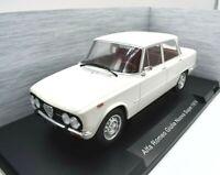 Model Car Scale 1:18 Alfa Romeo New Giulia collection White vehicles