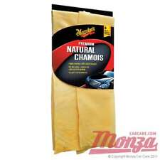 Meguiars 100% Cuero Natural ** alta Calidad ** Gamuza coche Secado Toalla / Paño