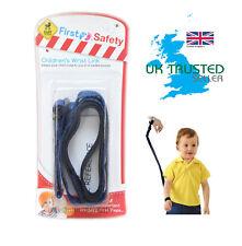 Correa de seguridad para niños bebé arnés de enlace de muñeca ajustable caminando rienda de brazo