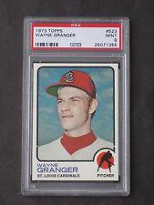 1973 Topps Wayne Granger ERROR VARIATION # 523 Cardinals PSA 9 MINT