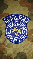 NEW RESIDENT EVIL STARS RACCOON POLICE DEPARTMENT BLUE TACTICAL PATCH AUS SELLER