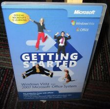 GETTING STARTED: WINDOWS VISTA & 2007 MICROSOFT OFFICE SYSTEM E-LEARNING CD ROM