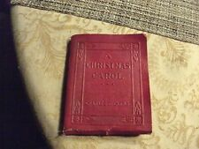 16#A   c1925 Charles Dickens A CHRISTMAS CAROL mini book, Publ by Robert K Haas