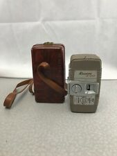 Vintage Mid Century Revere Eight Model 55 8mm Camera With Carrying Case KG RR17