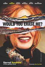 ETERNAL SUNSHINE OF THE SPOTLESS MIND Movie Promo POSTER E Jim Carrey