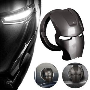 Iron Man Car Interior Engine Start Stop Push Button Switch Cover Titanium Black