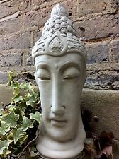 Large Divine Buddhas Head Statue For The Home Or Garden. From The Designer Sius