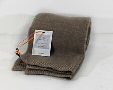 John Lewis Pure Cashmere Scarf made in Italy BNWT and Bag. Toast Colour