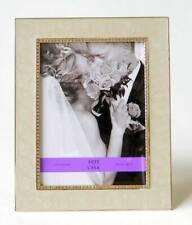 Avallone Photo Frame Cream Enamel With Crystal Jewel Border Arte de Casa 5x7 NIB