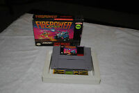 FIREPOWER 2000 SUPER NINTENDO GAME IN BOX