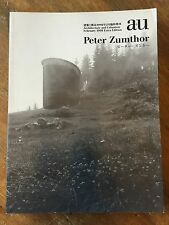 Peter Zumthor A+E Extra Edition Architecture Book   RARE!!!   VERY NICE!!!