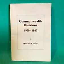 Commonwealth Divisions 1939-45 (Datafile) Paperback – August, 1999