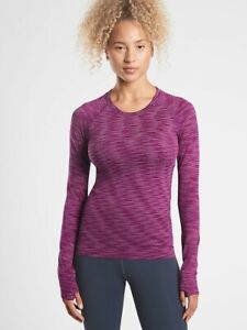 NWT ATHLETA Momentum Top Spacedye - L - LARGE - Exotic Fuchsia - $69 Lifestyle
