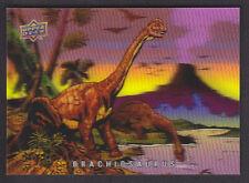 Upper Deck 2015 - Dinosaurs - 3-D Lenticular # 6 Brachiosaurus