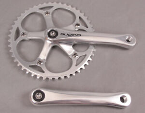 Sugino RD2 170mm SingleSpeed Track Bike Crankset 48t Square Taper JIS Silver