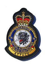 RAAF 76 Squadron Uniform Patch Crest New
