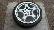 "PORSCHE 987 BOXSTER CAYMAN OEM FACTORY 19"" CARRERA S WINTER WHEEL & TIRE SET"